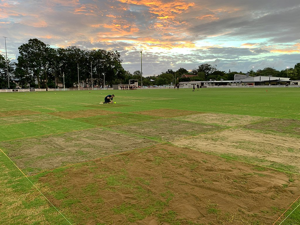 Sports Field Topdressing Trial -